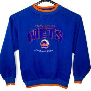Vintage New York Mets MLB Ringer Sweatshirt XL
